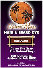 Harvest Moon mahogany henna hair dye