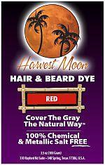 Harvest Moon red henna hair dye