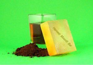 Natural saffron soap bar