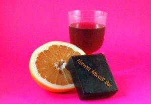 Natural wine soap bar
