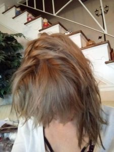 Ash brown henna hair dye is semi permanent