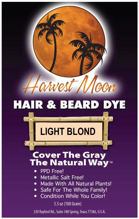 natural light blond henna hair dye